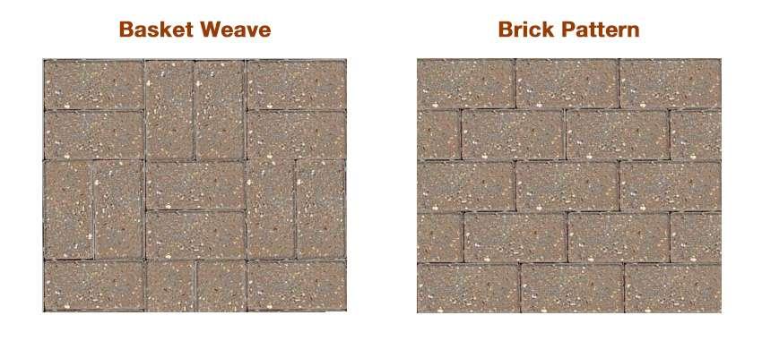 basketweave brickpattern