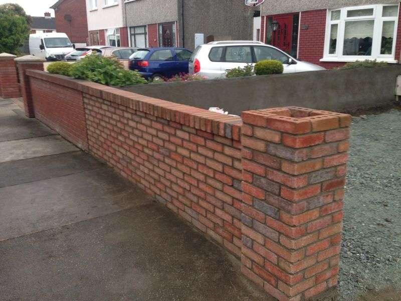 brickwork walls leighton buzzard
